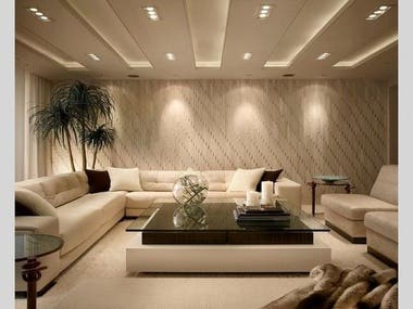These are  Interior designs with 3ds MAX Vray rendering