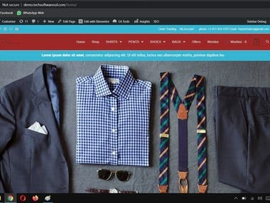 E-Commerce Website For My Existing Clients. Features: Mobile Responsive website. Add to cart functionality. Support Chat. Multiple pages. Unlimited product upload.