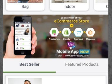 This is shopping mobile app