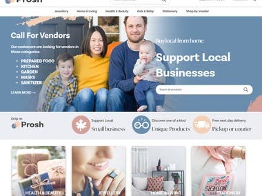 Wordpress theme, Woocommerce multi-vendor