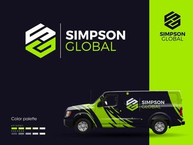 Simpson Global logo designed by me