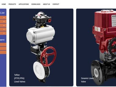 Valve Products Website