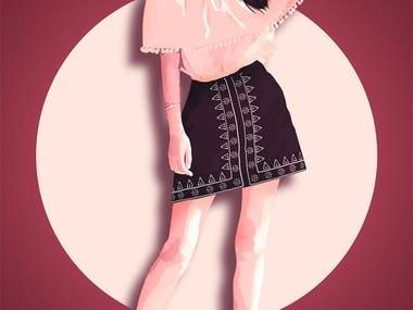 Portrait Illustration Tool used: Corel Draw, Adobe Photoshop, Adobe Illustrator