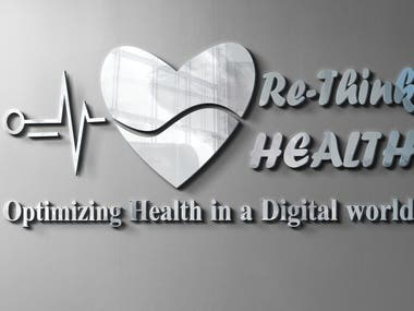 One of my design for Re-think Health.