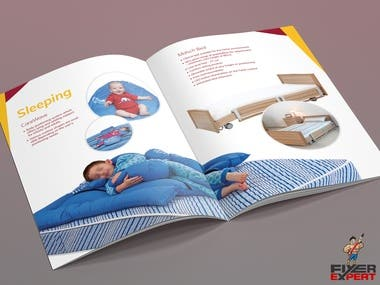 60 Pages A4 Product Catalog Brochure for a Heath Care Sector. I have retouched all product images and built the brochure with the content that the client provided.