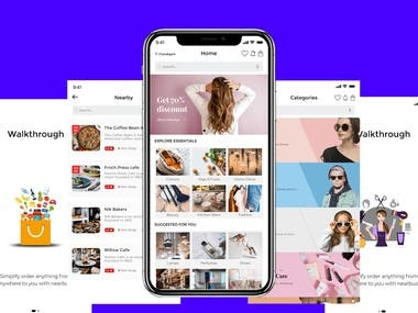 10+ Social Networking apps, 10+ E-Commerce Apps, 5 Fitness Apps, 10+ Photo Video Apps, 20+ 2D/3D Games  Relevant Experience as following : Powerful backend as web service ( Hosting : Amazon, rackspace, parse, godaddy, bluehost, and so on) Social integration (FB, Twitter, Instagram, Vine, Youtube, Yelp, foursquare, ... ) Payment integration ( Paypal, stripe, ..) GeoLocation,GeoFencing,GPS Object C & Swift & Android GPU & Unity 3d Design Robust Testing