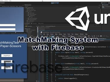 FPS Game, Gambling site, survival game, Unity Match Making System using Firebase, Unity Multiplayer Card Game,Unreal Engine FPS Game, Car Racing Game,