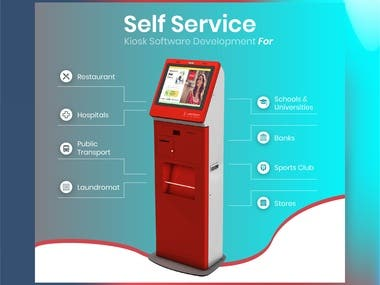 Complete order guaranteed in few seconds. Long queues to few clicks. Satisfy your customers using our all new kiosk. Stay trendy innovate your system