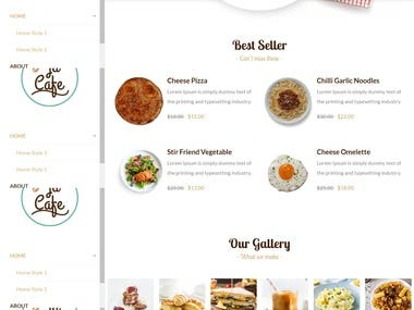 This template is Restaurant and Cafe Joomla Template i.e. designed specially for Cafe and Restaurant websites.  Feature it include: 1- JD Simple Contact Form. 2- OpenTable Integration (Allows you to make a online booking) 3- DJ events is provided where it makes the admin to easily create, host and manage events for the restaurants or cafe.