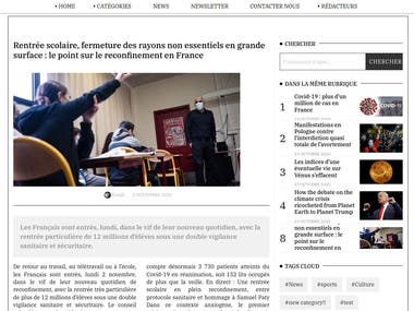 Tribune Libre is a daily newspaper website