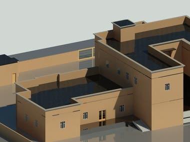 3D Exterior Renders For A Villa In Qatar