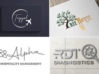 Logos concepts, contest entries.