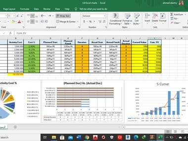 excellent with excel and data entry techniques