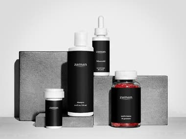 Design a product line of men health products.