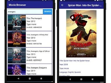 A React-Native app to search for movies, shows and Video Games using OMDB API.