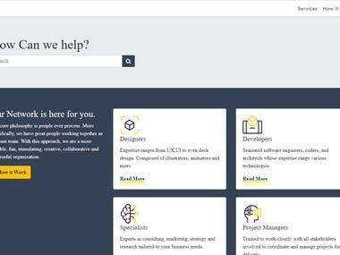 User Interface  design - UI design _Using Html5 /CSS - Javascript