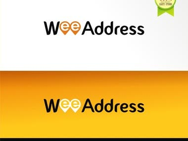 This is Logo for WEE ADDRESS