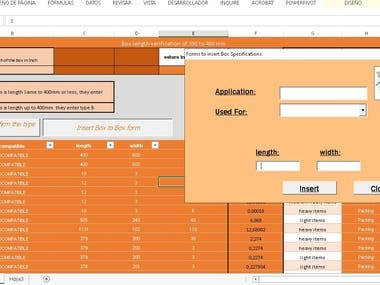 Extensive creation of macros according to your needs with forms and formulas in what you need.