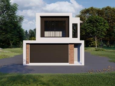 Elevation Design Rendering