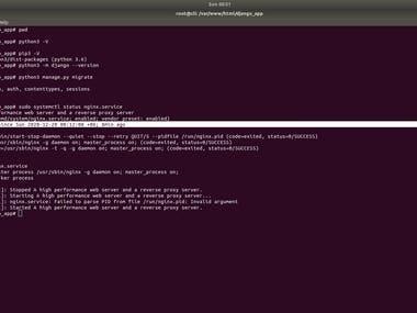 I will do Django installation || A Python-based free and open-source web framework.  If you need complete Django setup, ping me on below contacts: Telegram: linuxlinked email: linuxlinked@gmail.com WhatsApp: +8801720903155 Skype:live:.cid.c0dc316b9d727d5e YouTube: https://youtu.be/vZ6Wyne_Hb8 Checkout my GitHub Gist for Django installation: https://gist.github.com/LinuxlinkedBD/9491b6760991f614c8e04766e3995c3a