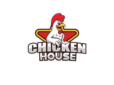 This is fried chicken restaurant logo.....