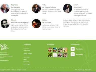 ecommerce site building using wordpress