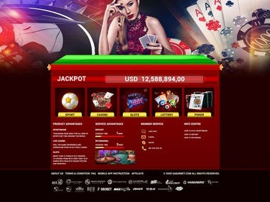 I am happy when I can collaborate with you, I hope to have the opportunity to work for you,  thank you so much   https://www.behance.net/gallery/110062689/casino