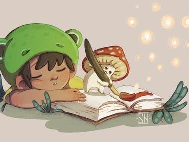 examples of children's book illustration