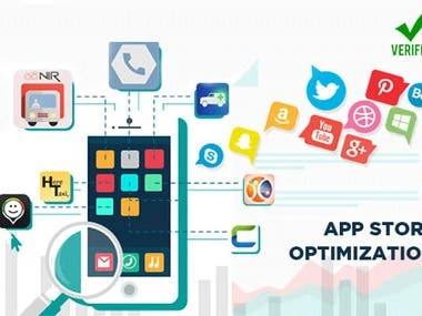 I will provide Complete ASO App Store Optimization for your it will improve keywords ranking