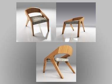 design in 3Ds max + Vray