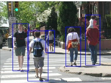 Pedestrian Detection with Yolo