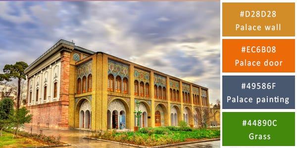regal color combination - palace