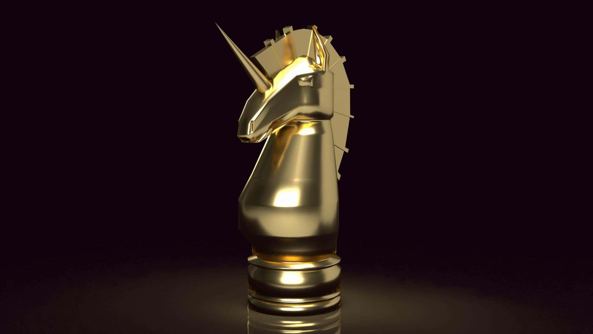 unicorn trophy