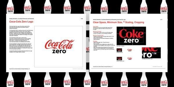 coca cola brand guidelines
