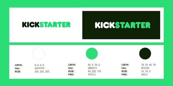 kickstarter brand guidelines