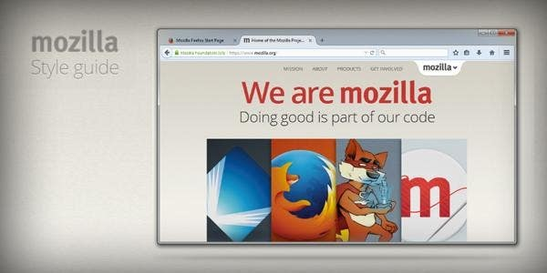 Mozilla brand guidelines