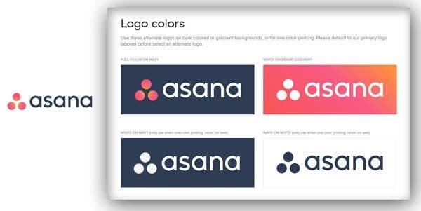 asana brand guidelines
