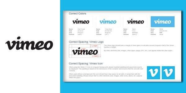 vimeo brand guidelines