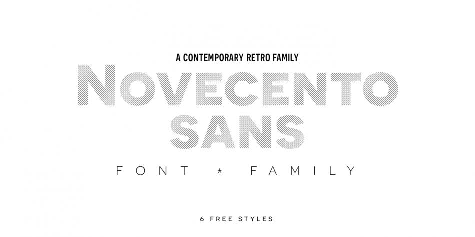 Novecento Sans font