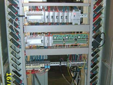 Control Systems for Shlaif Machine, based AB PLC Micrologix
