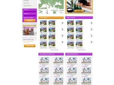 Apartment Bookings website