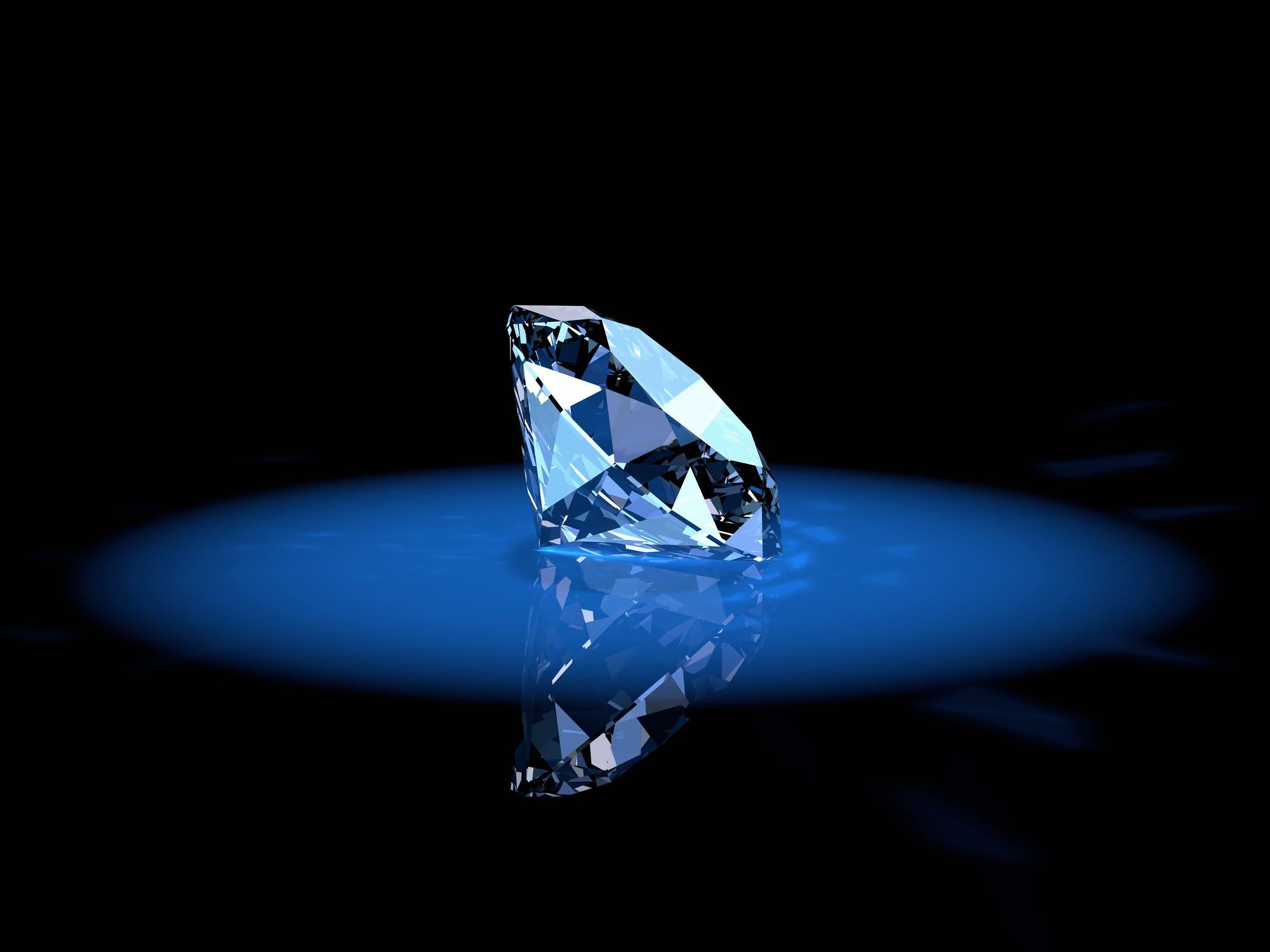 Brilliant shiny diamond