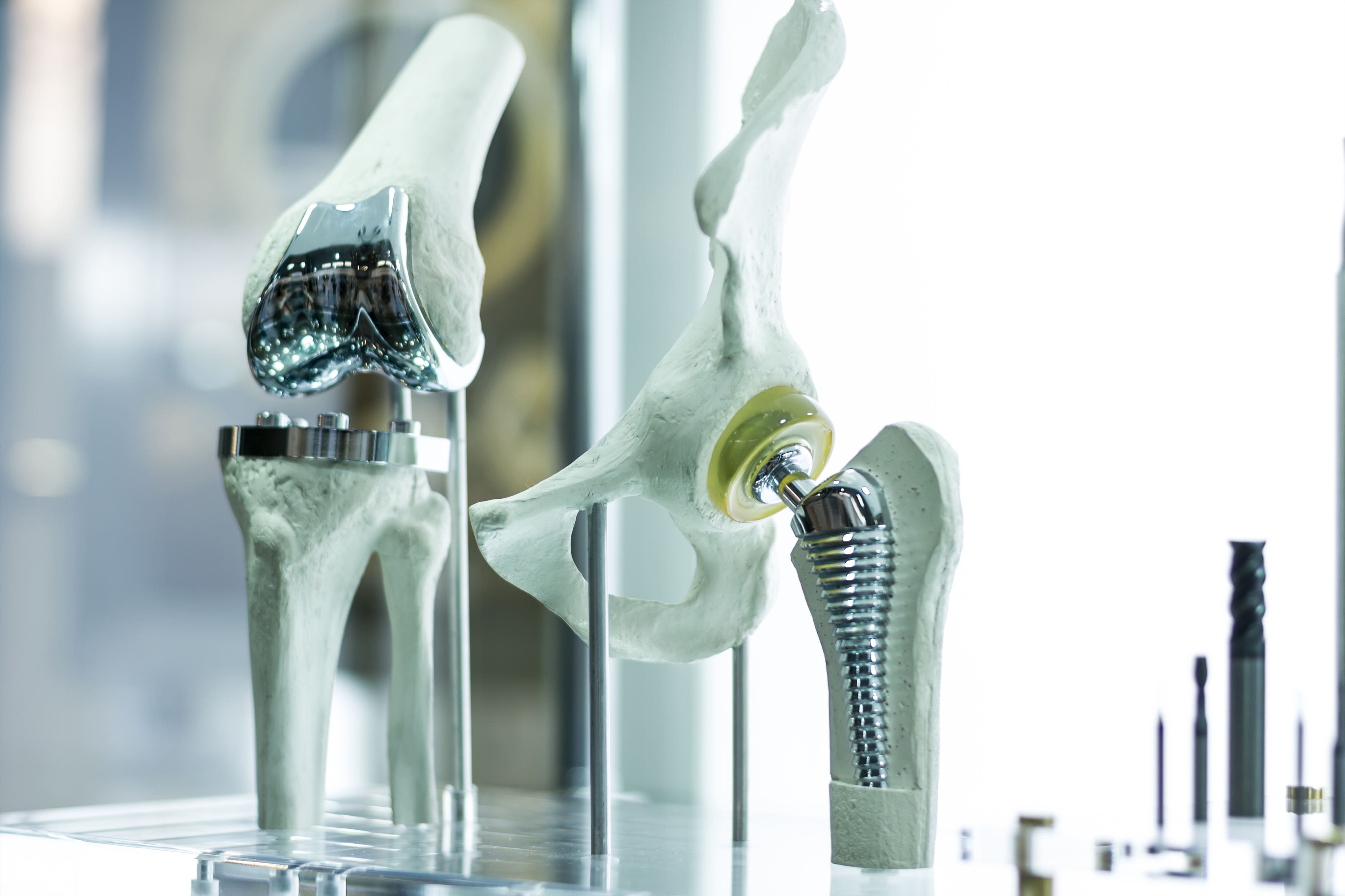 Titanium prosthetics
