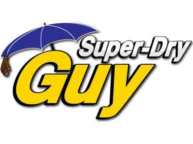 Super-Dry Guy Logo