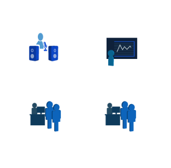 These are four icons for a software