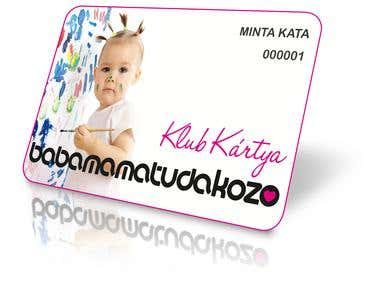 club card design :)