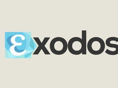 Exodos is an Australian Greek community entertainment website (news, events, Greek Australian directory, student organisations and more).  The logo was created as an entry for a freelancer.com contest https://www.freelancer.com/contest/contest.php?project_id=61007