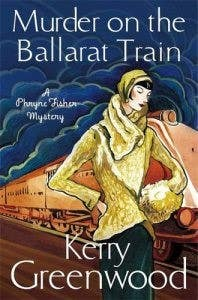"Cover of ""Murder on the Ballarat Train"""