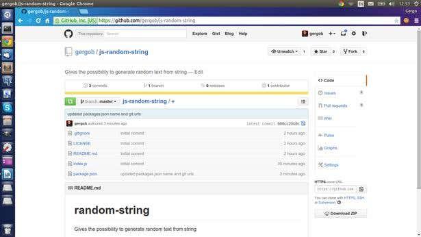 github js-random-string