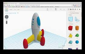 Using tinkercad